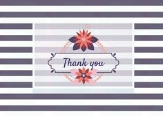This card is blank insideIncludes white envelopeProduct W x H Please note: watermark is not present on the actual card Eid Cards, Thank You Note Cards, Charity, Presents, Stripes, Black And White, Gifts, Black White, Blanco Y Negro