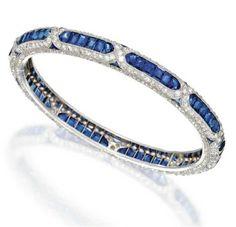 By Sothbey's. Bridelan - Personal shopper & style consultants for Indian/NRI weddings, website www.bridelan.com #Sothbeys #BlueGemstones #BlueSapphire #Sapphire #Tanzanite #Diamonds #WeddingJewellery #DiamondWeddingJewellery #BlueGemstones #Bridelan #BridelanIndia http://www.bridelan.com/
