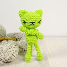 Free croche cat pattern