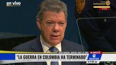 Santos a la ONU: 'La guerra en Colombia ha terminado'