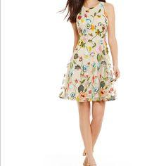 Gianni Bini Embroidered Dress