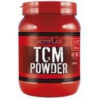 ActivLab TCM Powder to jabłczan kreatyny. To bardzo dobra forma kreatyny, która nie powoduje zatrzymania wody w mięśniach i wykazuje się lepszą skutecznością od zwykłego monohydratu kreatyny.