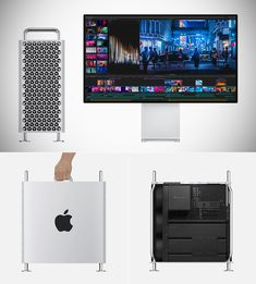 New Apple Mac Pro officially unveiled. Apple Today, Gnu Linux, Space Frame, Mac Mini, Mac Pro, Apple Inc, Latest Gadgets, Cool Technology, Home Design Plans