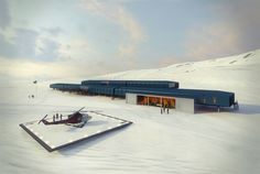 Solar and Wind-Powered Comandante Ferraz Antarctic Station Win...