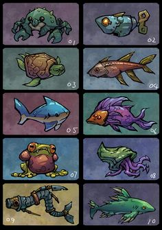 ArtStation - Battle Chasers: Night War | Fishing, Grace Liu