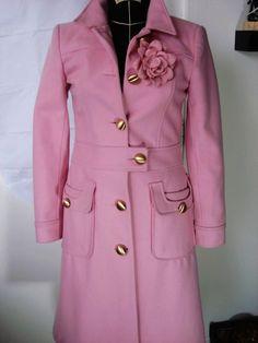 THE pink coat (Lorelai / Gilmore Girls) Pink Edward An Wool Coat as seen in Gilmore Girls