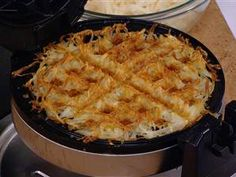How to make hash browns – with a waffle iron!