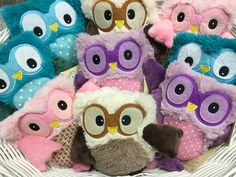 In honor of #NationalBirdDay here are our #favorite heatable #owls 💓 Get yours today to help you stay warm. In store or online anytime www.Poshinate.com/collections/heatable-stuffed-animal