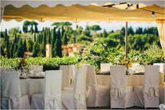 Inspiration for their wedding in Tuscany