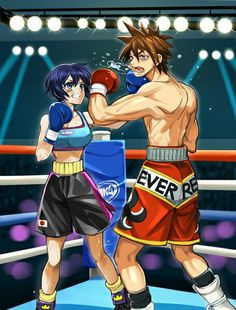Mixed boxing fight 3