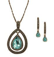 THIS IS SO CUTE!!!  Blissful Blues Drop Pendant Gift Set