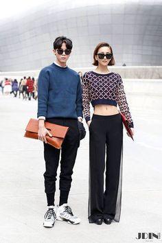 Model Street style #SeoulFashionWeek @DDP