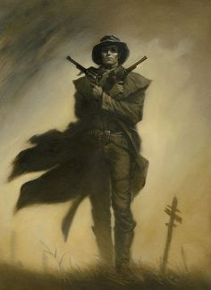 Michael Whelan • Roland from Stephen King's The Dark Tower,...