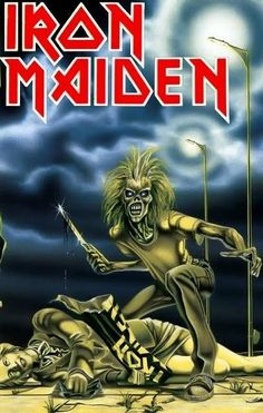 Iron Maiden - By far my favorite band in the whole wide world. Bruce Dickinson, Power Metal, Heavy Metal Music, Heavy Metal Bands, Death Metal, Black Metal, Iron Maiden Cover, Eddie Iron Maiden, Rock N Roll