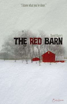 Mock Poster for the stage play 'The Red Barn'