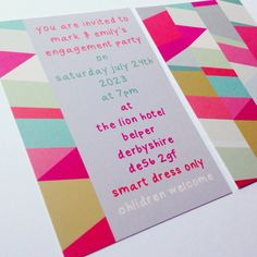 the 8 best modern party invitations images on pinterest modern