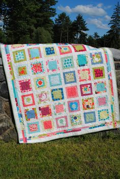 QUILT PATTERN....one layer cake or Fat Quarters by sweetjane, $9.00