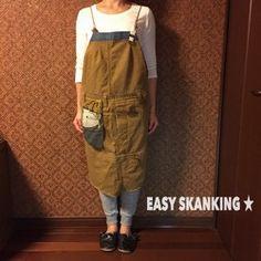EASY SKANKING☆エプロン|エプロン|EASY SKANKING|ハンドメイド通販・販売のCreema