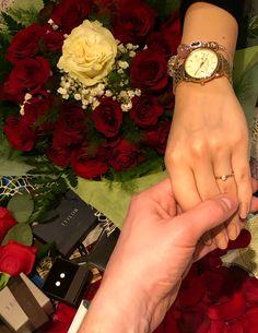 She said YES! <3 #RingInTheRoses <3 Groomsmen Proposal, Beer Humor, How To Memorize Things, Bridesmaid, Engagement, Sayings, Life, Instagram, Maid Of Honour