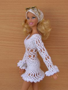 #Barbie #crochet #dresses Marla Dolores Rincon Fab/flickr 46.33.3 qw