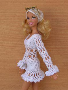 #Barbie #crochet #dresses Marla Dolores Rincon Fab/flickr 46.33.3 qw