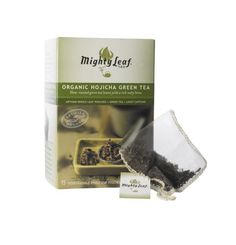Mighty Leaf Tea Organic Hojicha Green Tea, 15-Count Whole Leaf Pouches (Pack of 3) - http://goodvibeorganics.com/mighty-leaf-tea-organic-hojicha-green-tea-15-count-whole-leaf-pouches-pack-of-3/