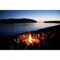 How to Throw a Bonfire Party ❤ liked on Polyvore featuring backgrounds, pictures, images, inspiring and photos