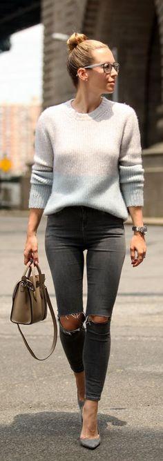 Shades Of Grey Styling by Brooklyn Blonde