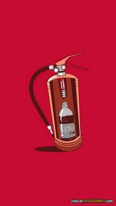 Así funcionan los extintores.