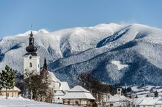 West Tatras village Bobrovec the Liptov Region Native Country, Heart Of Europe, Bratislava, Future Travel, Eastern Europe, Heritage Site, Capital City, Slovenia, Poland