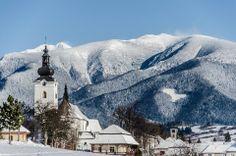 West Tatras  village Bobrovec the Liptov Region