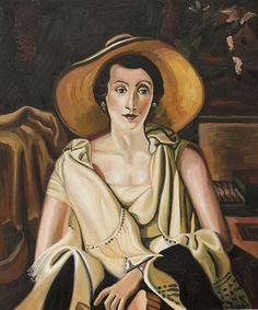 """""""Portrait de Mme Paul Guillaume"""" by Andre Derain #portrait #art"""