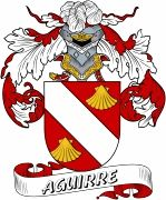 De Aguirre Spanish Coat Of Arms from the website www.4crests.com #coatofarms…