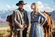 New trailer for Westworld starring Evan Rachel Wood and James Marsden.