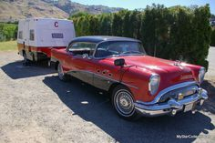 Another 2017 Canadian Coasters ride--this '54 Buick towed a trailer across Canada. Full MSCC story: http://mystarcollectorcar.com/september-2017-coasters-50-a…/
