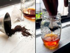 Tea infused liquor