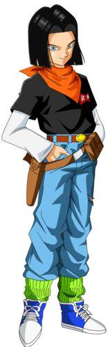 Androide Número 17 - Dragon Ball Wiki - Wikia