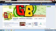 www.facebook.com/gbgamesjp - Criação e Gestão da página e de todo o conteúdo.