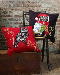 My Owl Barn: Garnet Hill: Night Owl Sateen Bedding Owl Bedding, Linen Bedding, Bed Linens, Owl Clip Art, Owl Art, Kids Pillows, Throw Pillows, Owl Pillows, Burlap Pillows