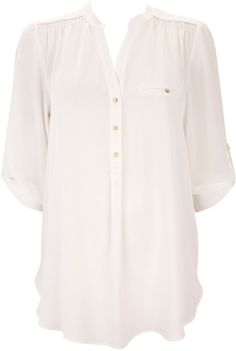 Wallis White Shirt on shopstyle.co.uk Jersey, Wallis, Shirts, Shirt, Dress Shirts, Dress Shirt, Tees, Cardigans, T Shirts