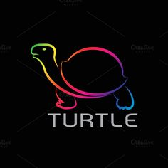 Vector images of turtle design @creativework247