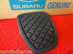 New Genuine Subaru Brake Clutch Pedal Pad Forester Impreza Legacy Outback | eBay