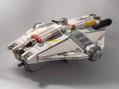 The GHOST, Hera's armed and armoured transport wi...