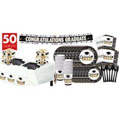 Key to Success Graduation Mega Tableware Kit