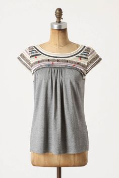 Anthropologie Bits of Jubilee Boatneck. I think this is adorable. Going to noodle on how to recreate it in my size.