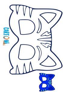 Printables – PJ Masks Owlette, Gekko, & Catboy Masks - New ideas Spongebob Birthday Party, Fourth Birthday, Boy Birthday Parties, Pj Masks Printable, Pj Mask Party Decorations, Pjmask Party, Pj Masks Costume, Festa Pj Masks, Fun Activities For Kids