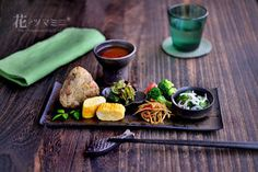 「おばんざいワンプレートの盛り付け方」|レシピブログ Asian Recipes, Real Food Recipes, Yummy Food, Healthy Recipes, Cooking Recipes, Bento, Japanese Dishes, Exotic Food, Cafe Food