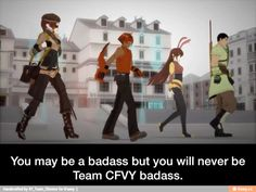 Team CFVY is cool!