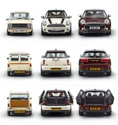 MINI Clubman - Design Evolution link: