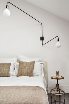 bedroom styling... For luxurious cotton bedding and cosy wool throws try: http://www.naturalbedcompany.co.uk/